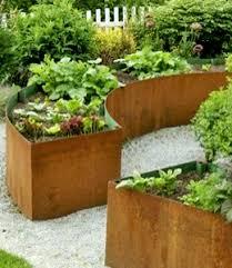 Cortenstaal plantenbak op maat